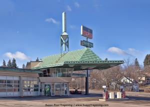 The Frank Lloyd Wright Gas Station